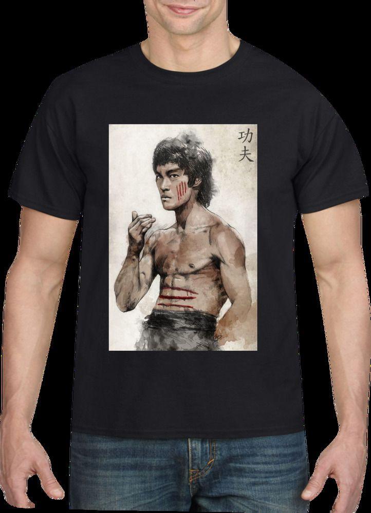 Bruce Lee T-shirt, Men's T-Shirt #CUSTOMPRINTED