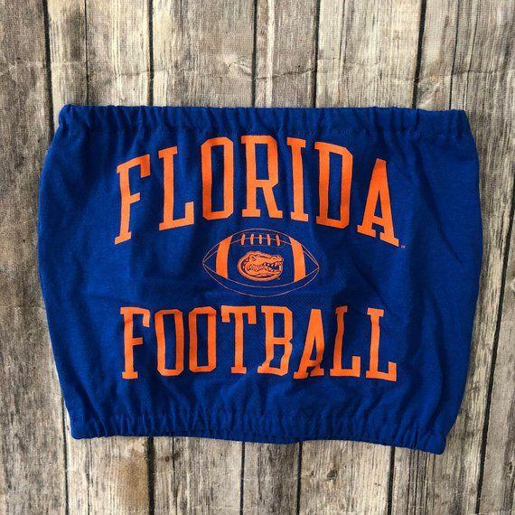 University Of Florida Gators Football Tube Top Graduation Gift Tailgate Clothing Game Day Clothes Football Game Shirt Florida Gators Football Tailgate Outfit Florida Gators