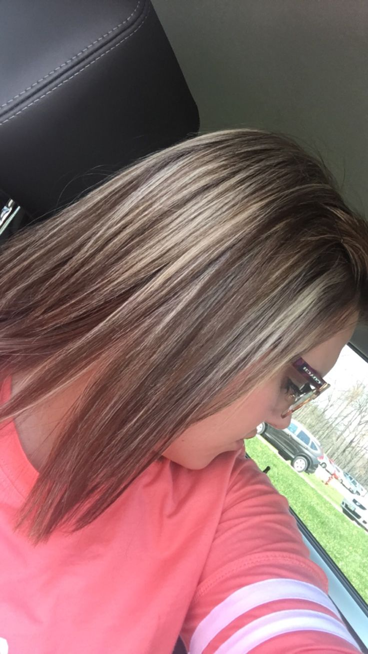 Brown With Ash Blonde Highlights Hair Pinterest Ash