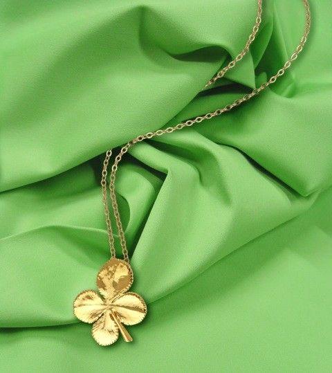 Leaf Necklace - Four Leaf Clover $74.9 (AUD) | FREE Delivery