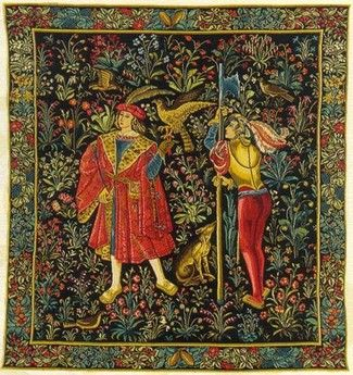 medieval tapestry How to Marry Your Wife ends with a Christmas Banquet. http://www.amazon.com/Marry-Your-Stella-Marie-Alden-ebook/dp/B017KPHKVO