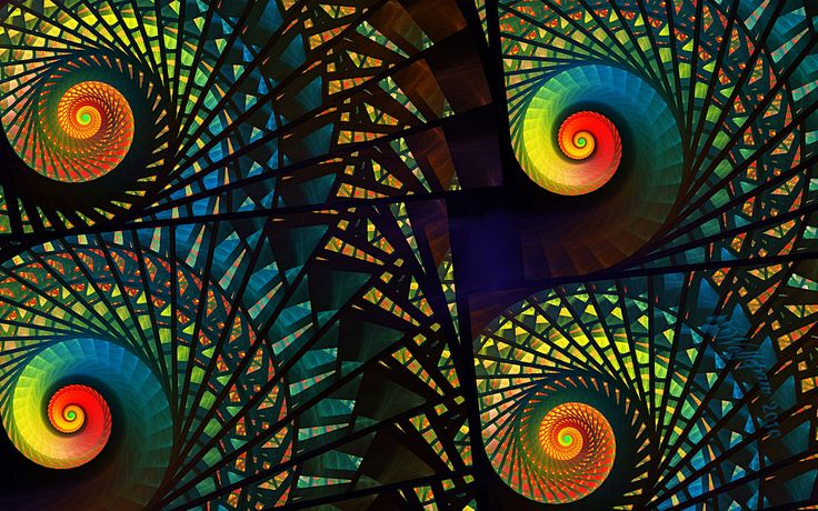 can you believe this is stain glass...: Beautiful Colors, Visual Parties, Stained Glasses Art, Art Style, Fractals Art, Digital Art, Beautiful Stained, Glasses Spirals, Wolfepaw Deviantart Com