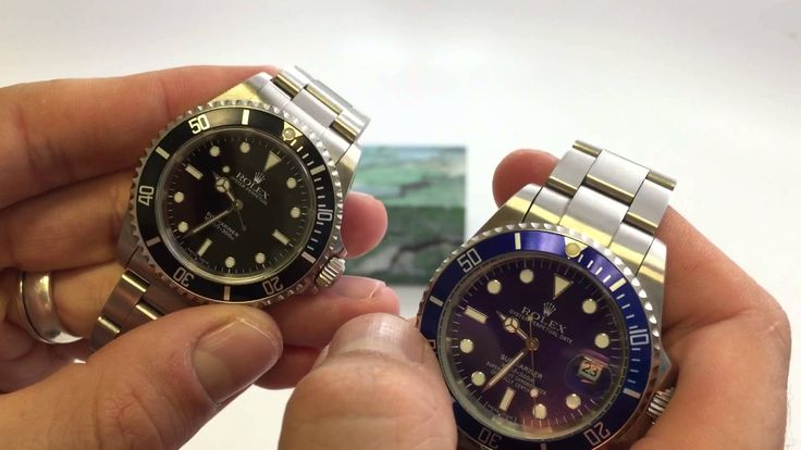 How To Spot A Fake Rolex - Authentic Rolex Submariner No Date vs Replica...