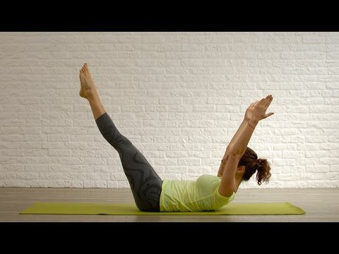 Pilates online - Tonifica tu abdomen en 5 minutos - YouTube