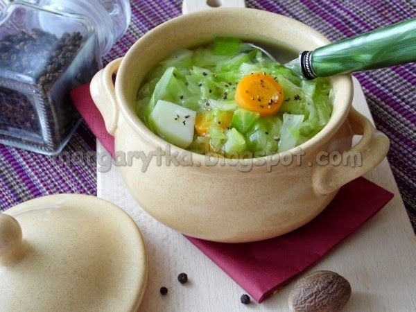 Kulinarne Szaleństwa Margarytki: Parzybroda, czyli zupa ze słodkiej kapusty z ziemniakami