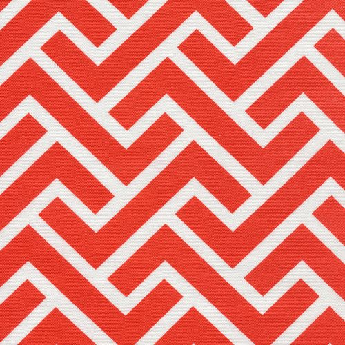 ZigZag   Coral from GeoCentric Canvas by Michelle Engel Bencsko for Cloud9 Fabrics