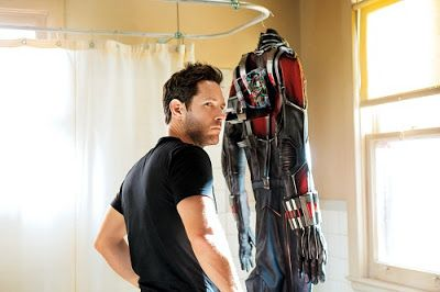 Keeping Up with the Marvel Universe: ANT-MAN - The movie opens with Scott getting out of prison having done time for a corporate Robin Hood-ish type crime. He'd like to go and be with his daughter Cassie, but he's estranged from his ex-wife (Judy Greer) Sidenote: If I were Judy Greer I'd be sick of playing the cameo quirky mother/girlfriend/wife role, when was the last time she got to be funny?