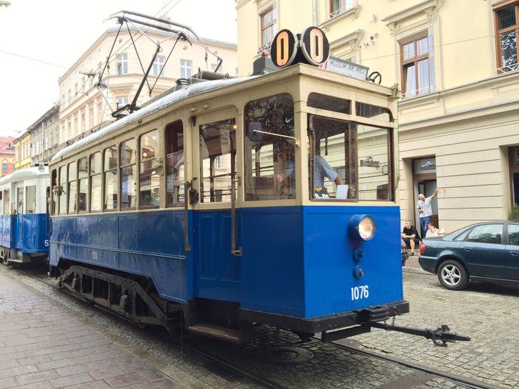 Ale jazda! czyli zabytkowym tramwajem po zabytkowym Krakowie / What's a ride! By…