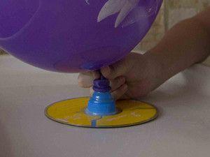 Опыты с воздушными шариками