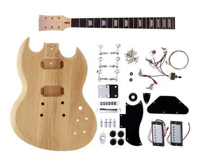 Harley Benton Electric Guitar Kit DC Style #Thomann