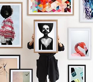 Nice online shop for modern art