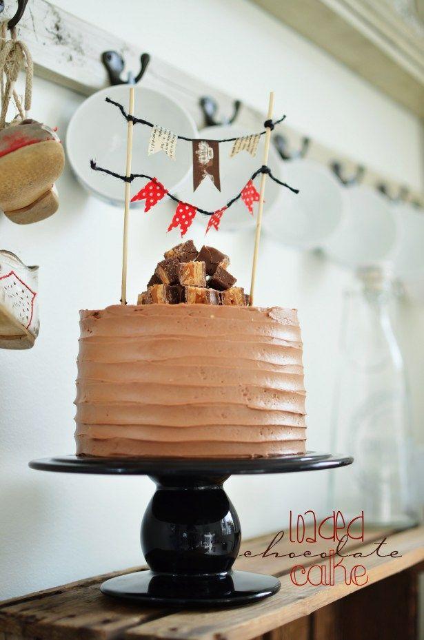Loaded Chocolate Cake (Galet God Chokladtårta)