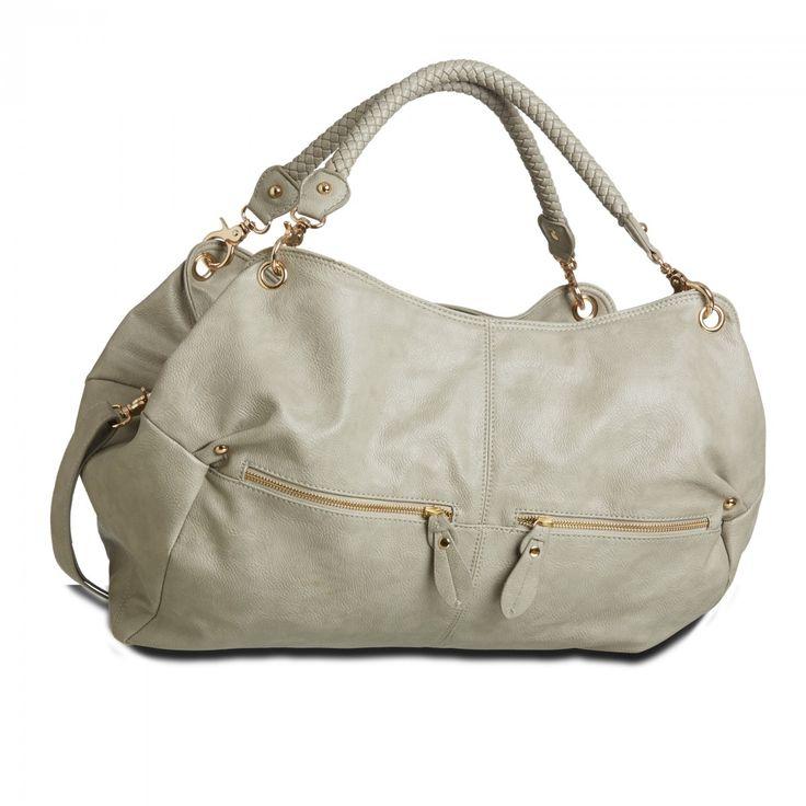 byStroom BEA Ash Grey Changing bag