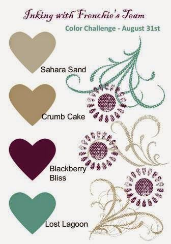 Stamp & Scrap with Frenchie: Color Challenge with Frenchie's Team Stampin' Up!
