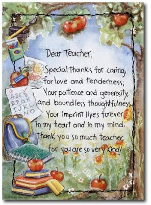 World Teachers Day Poems | Thank You Teacher Quotes