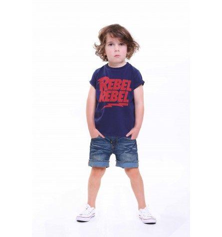 Rebel Rebel Short Sleeve T-Shirt