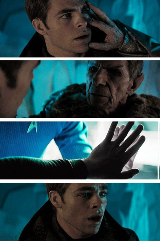 Holy crap, this post. Kirk now knows how important Spock is to him, and he to Spock. Then Khan happens, Dreadnaught is falling, and Kirk REMEMBERS the radiation core, and he can't let that happen again, so he goes himself, and it doesn't matter that he is dying, Kirk dies with a smile on his face because he saved Spock. (Paraphrased from original post because #eff all the effing hashtags)  NO.