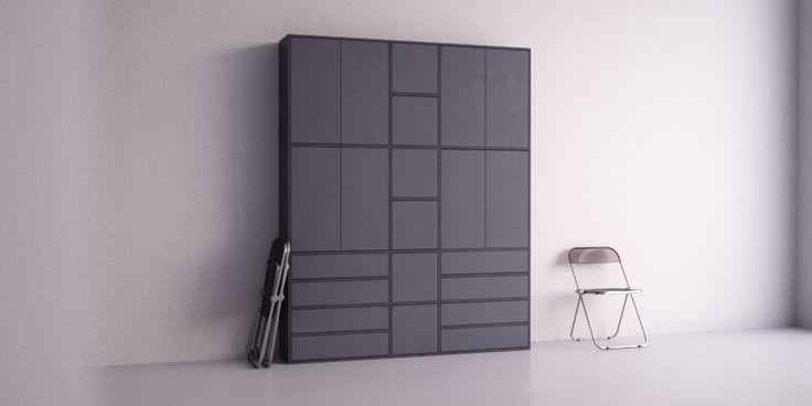 meer dan 1000 idee n over schrankwand op pinterest. Black Bedroom Furniture Sets. Home Design Ideas