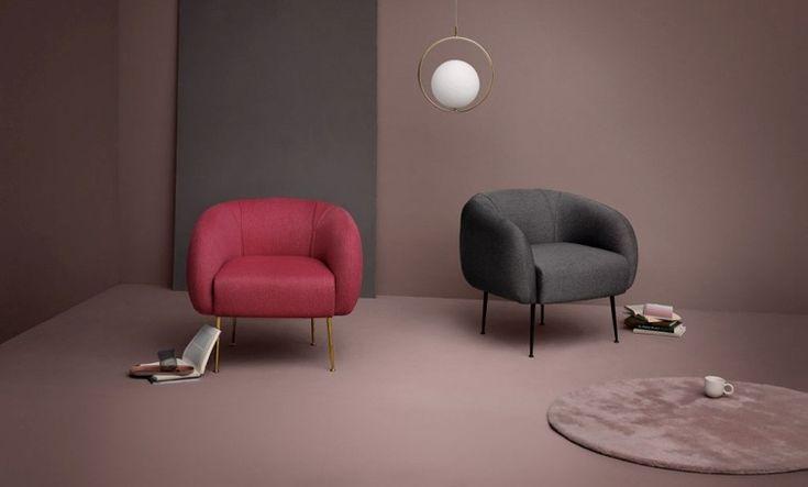 #fauteuil #klassiek #trendy #roze #grijs #vloerkleedje #interieur