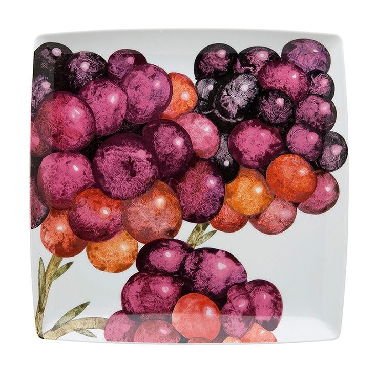 TROPICS - Charger Plate Blueberry