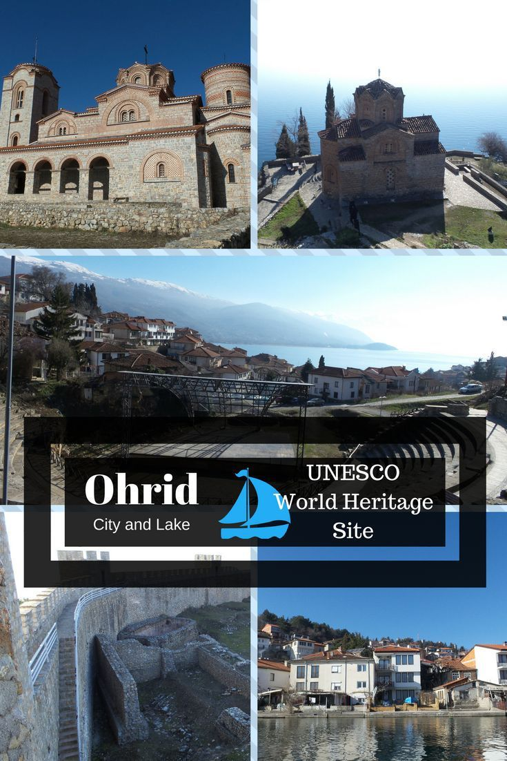 Ohrid, Macedonia has been a UNESCO World Heritage Cultural and Natural Site since the 1980s. Ohrid Lake is also the oldest lake in Europe. There are many more historical reasons why Ohrid should be on anyone's bucket list to visit this wonderful place. travel | cultural travel | romantic travel | buck list | Europe travel