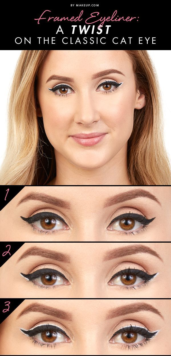 We've mastered the classic cat eye and are looking for a challenge. Maybe a thicker framed eyeliner look? Yes! Here's a tutorial for how to frame those peepers.