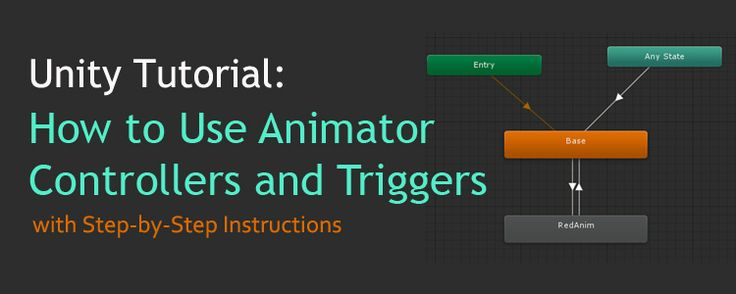 Unity Tutorial: How to Use Animator Controllers and Triggers