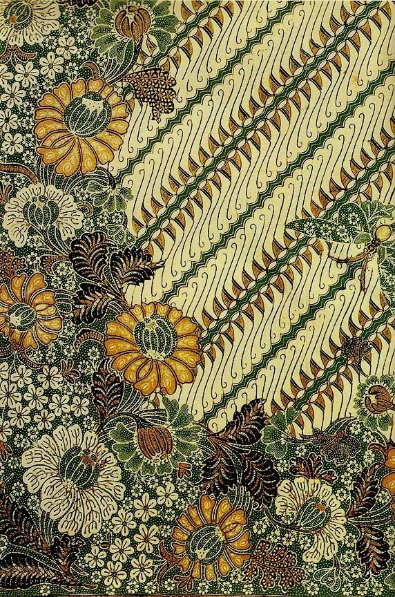 Batik in Parang Wenang Buketan Motif - Yogyakarta, Indonesia