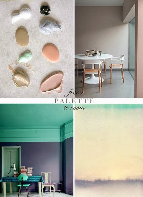 Trend #6 - PASTELS   Blush pink, soft mint green, pale peach and violet are making statements in the interiors world. Paired with a burst o...