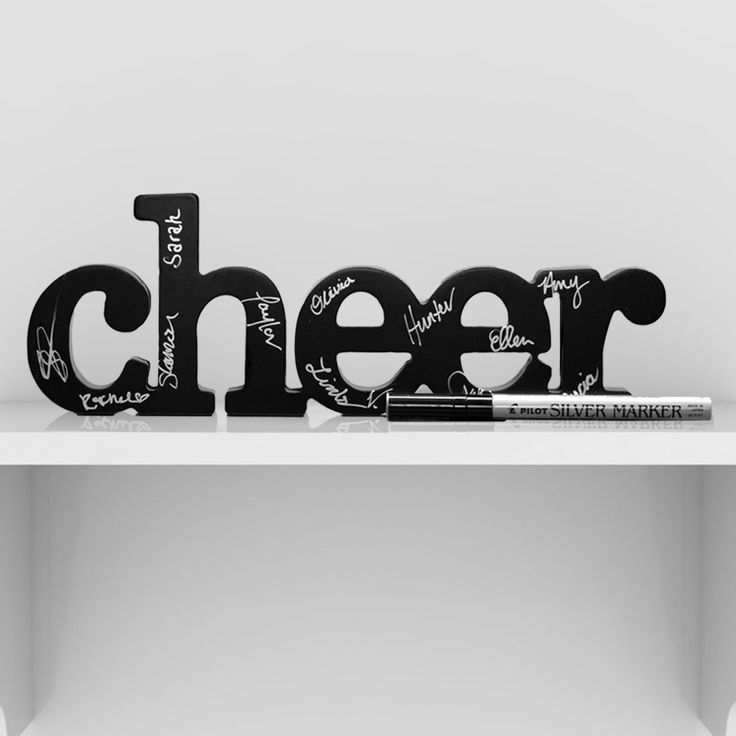 Cheer SportWORDS - This carved wood decorative accessory makes a statement and is a great accent piece for home or office.