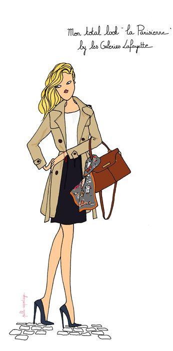 """Mon total look """"Parisienne"""""""