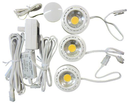 Canarm LED-3PT1/12WHT-C Under Cabinet LED Puck-Light, 3-Pack - http://www.halloween.quick-reviews.com/5644/canarm-led-3pt112wht-c-under-cabinet-led-puck-light-3-pack.html
