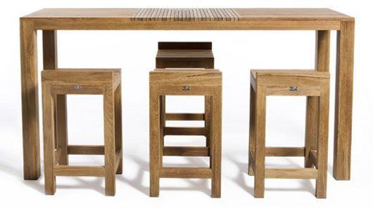 Hospitality:Patio Bar Table And Stool (Table 180x60x105; Stool 43x45x78cm) Bali Furniture Design Indoor Manufacturers Restaurant Bar Hotel Villa…