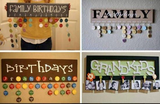 DIY Family Calendar Step by Step