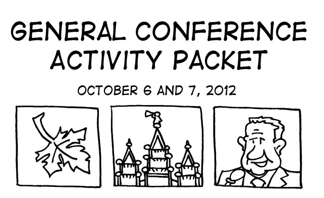 general conference activity packet