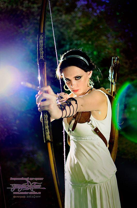 Богиня Артемида.