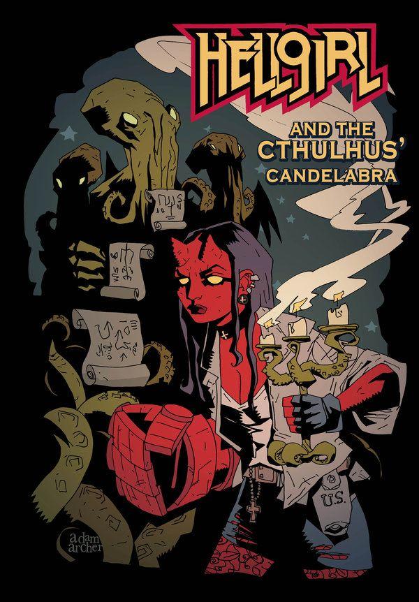 Hellgirl shirt by a-archer