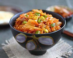 Kimchi Fried Rice | Kimchi Fried Rice Recipe | Easy Asian Recipes at RasaMalaysia.com