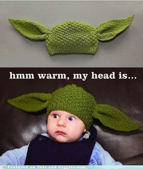 Warm, my head is