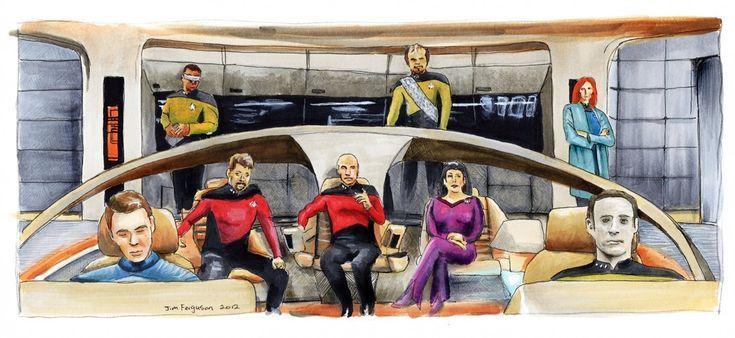 star trek tng   Available from Etsy.com Star Trek The Next Generation 25th Anniversary ...