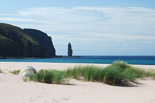Sandwood Bay (Walkhighlands). Magical , peaceful place - we camped just yards from the water's edge at mid-summer