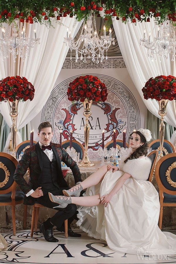 WedLuxe– Anna and Alexei | Photography by: lifeimages. Follow @WedLuxe for more wedding inspiration!