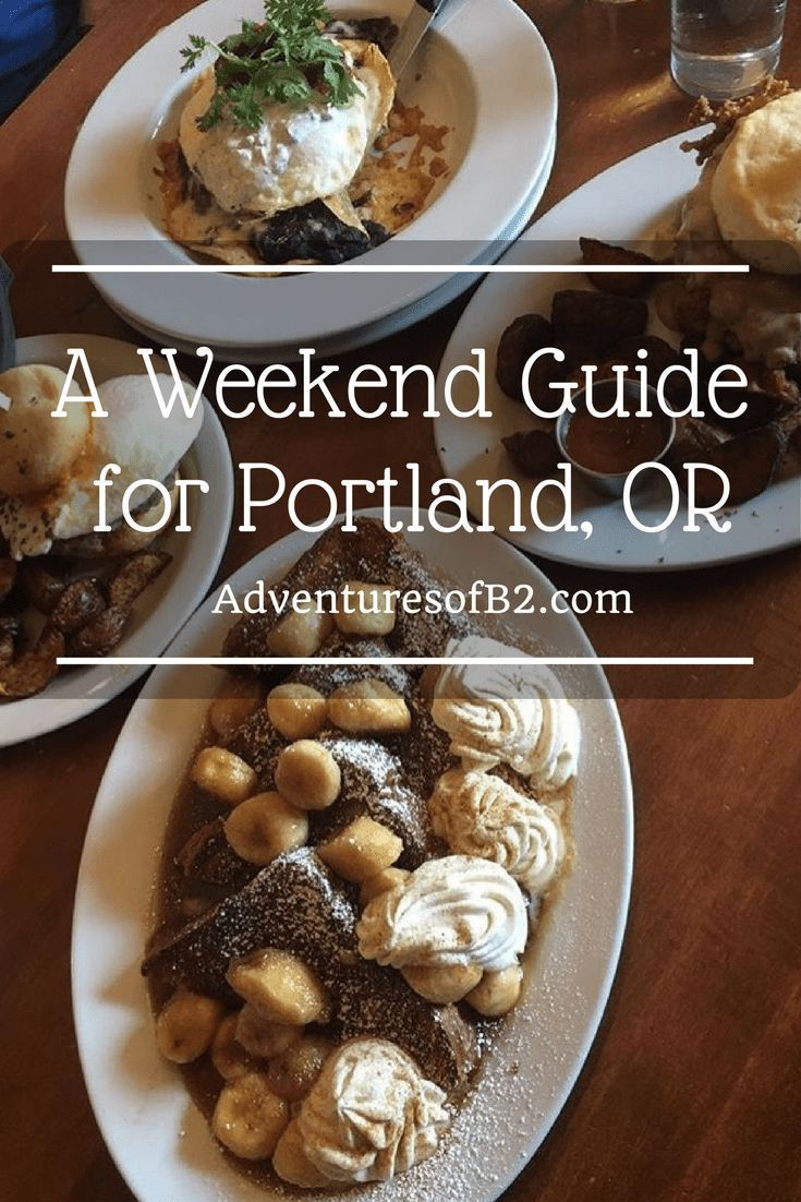Here's a quick guide for Portland, Oregon that includes local eateries, hotels and attractions to take the guess work out of planning a fun filled weekend. #travelguide #portland #traveltips #ustravel