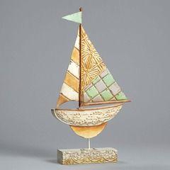 Sailboat Tin Figure - 4054616 $45.00