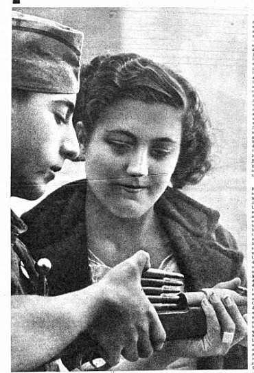 Spanish Civil War, 1936-1939.