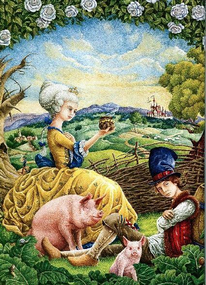 """Andersen's Fairy Tales"", illustrated by Rostislav Popsky."
