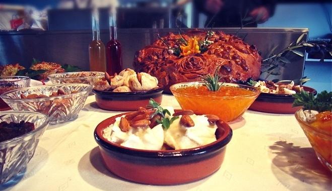 Cretan bread and breakfast