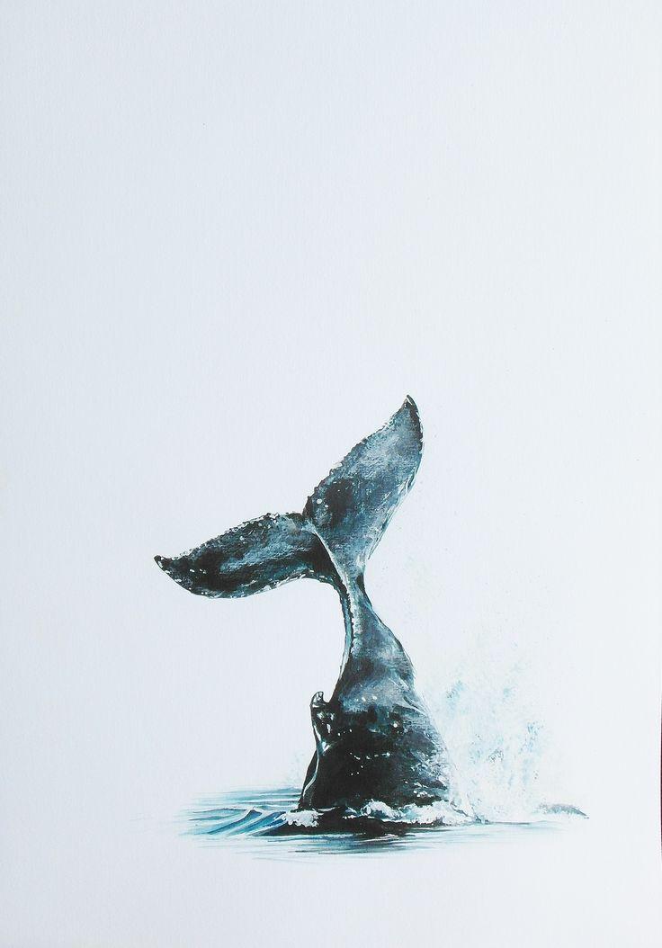 Lucy Hughes Art - Whale Whale Whale