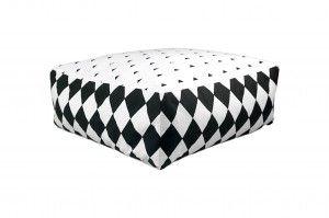 Floor Pillow Geometric Dream