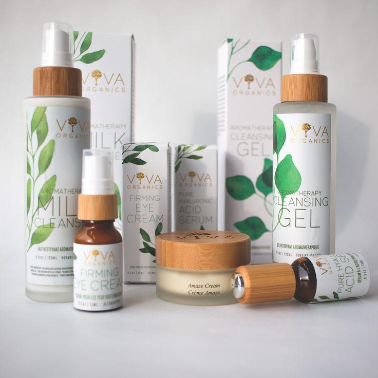 Viva Organics Facial Cleansers available at BC Vitamin.